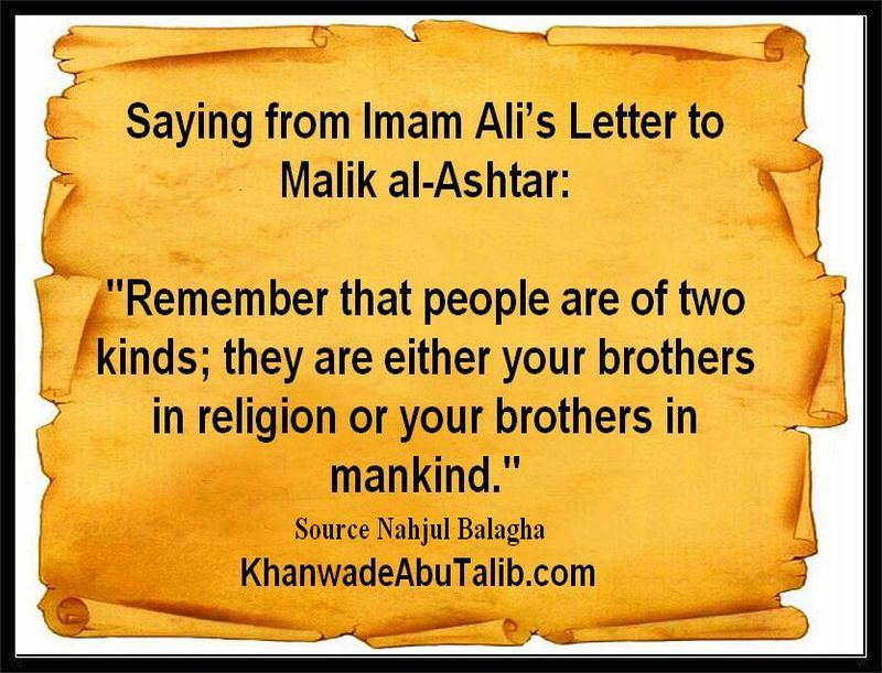 Imam Ali As And Human Rights Khanwadeabutalib